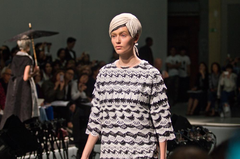 Anrealage Fashion Show Paris Spring Summer 2015