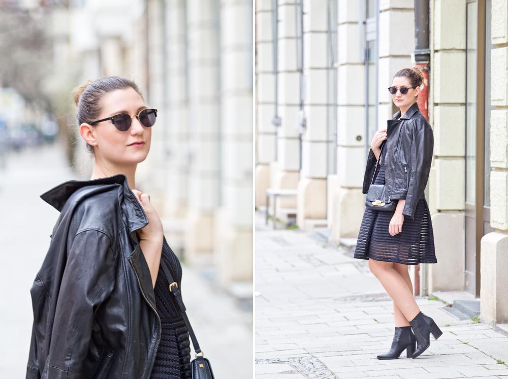 all_black_mesh_kleid_lederjacke_bomboogie_fashionblog_muenchen_modeblog_rebecca_minkoff_hallhuber_01