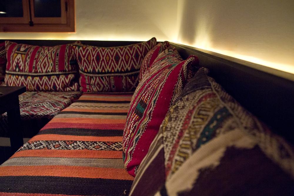 Marrakesch Medina Riad Armelle Restaurant Nomad Marokko Reiseblog Reisebericht