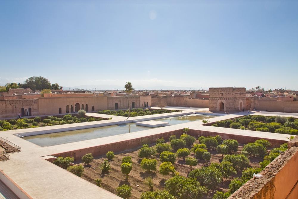 Bahia Palast El Badi Palast Saadier Gräber Marrakesch