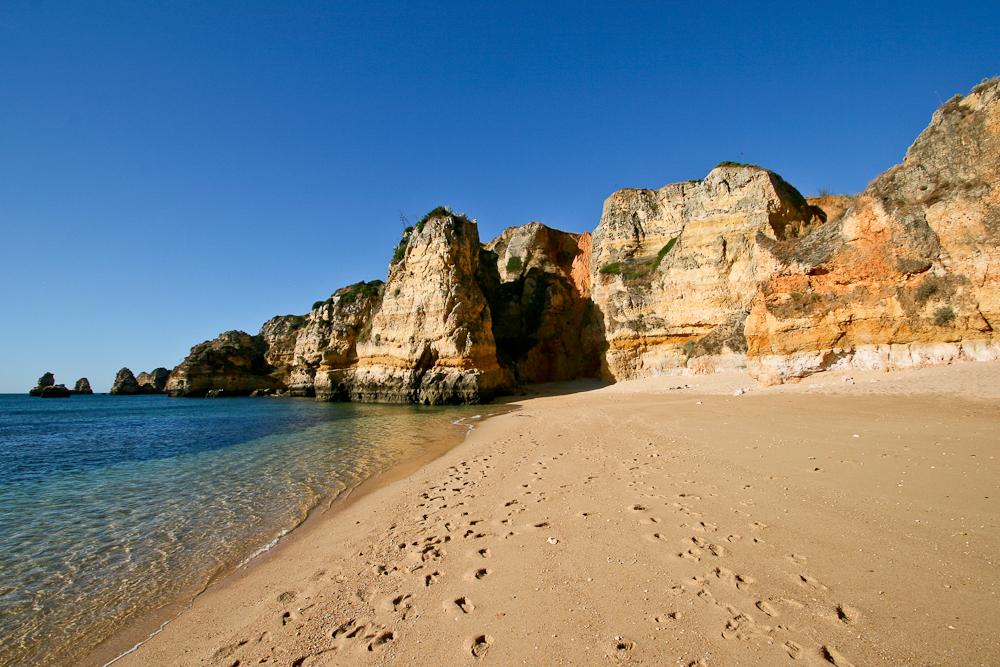 Portugal Algarve Praia Dona Ana