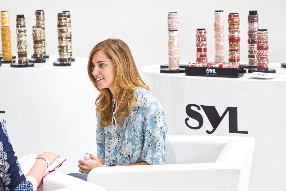 Chiara Ferragni The Blonde Salad Interview Bread and Butter Fashionweek Berlin Sal y Limon