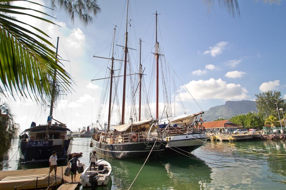seychellen_mahe_flughafen_Port_victoria_seabird_silhouette_cruises_04