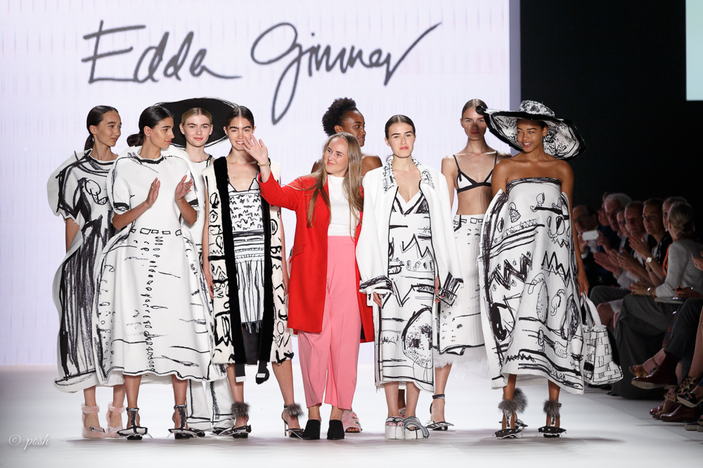 MERCEDES BENZ FASHION WEEK BERLIN Sommer 2017 EDDA GIMNES