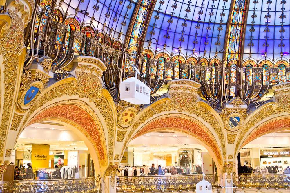Paris Shopping Galeries Lafayette Food Tour